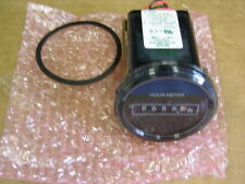 NAIS / Panasonic TH833C 12V Hour Meter W/LED Operating Light IP66 Waterproof