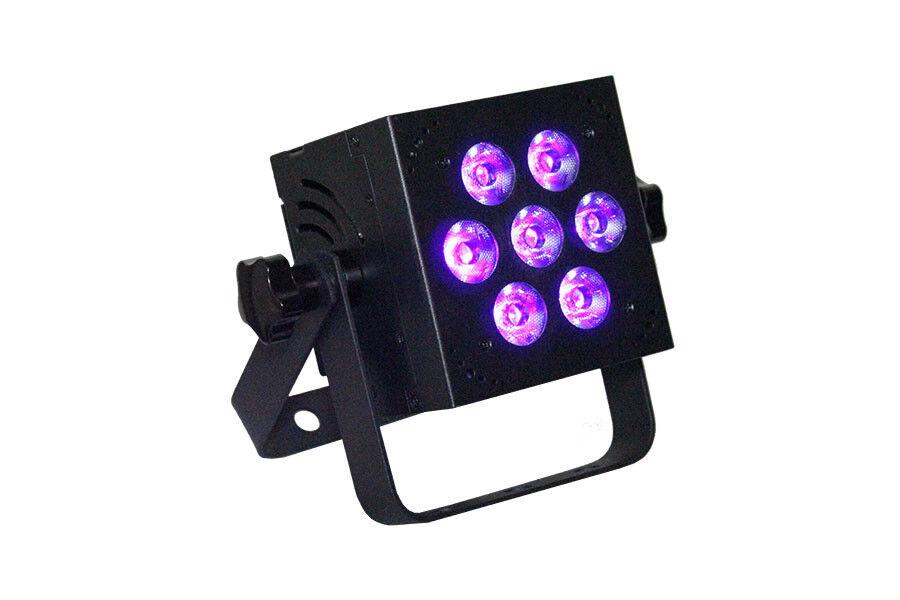 Blizzard Lighting HotBox 5 RGBVW 7x15-Watt RGBW UV-5-in-1 LEDs MACHEN EIN ANGEBOT