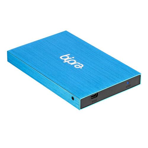BIPRA 200GB 2.5 Pollici USB 2.0 NTFS Slim DISCO RIGIDO ESTERNO-Blu