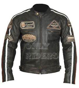 Veste-En-Cuir-Moto-Homme-Vintage-Cafe-Racer-Leather-Jacket-Blouson-Rocker
