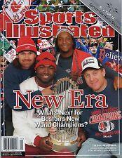 New Sports Illustrated Boston Red Sox 2004 World Series Champions Era No Label