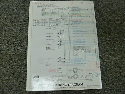 19941996 cummins m11 celect plus engine electrical wiring diagram manual  1995  ebay