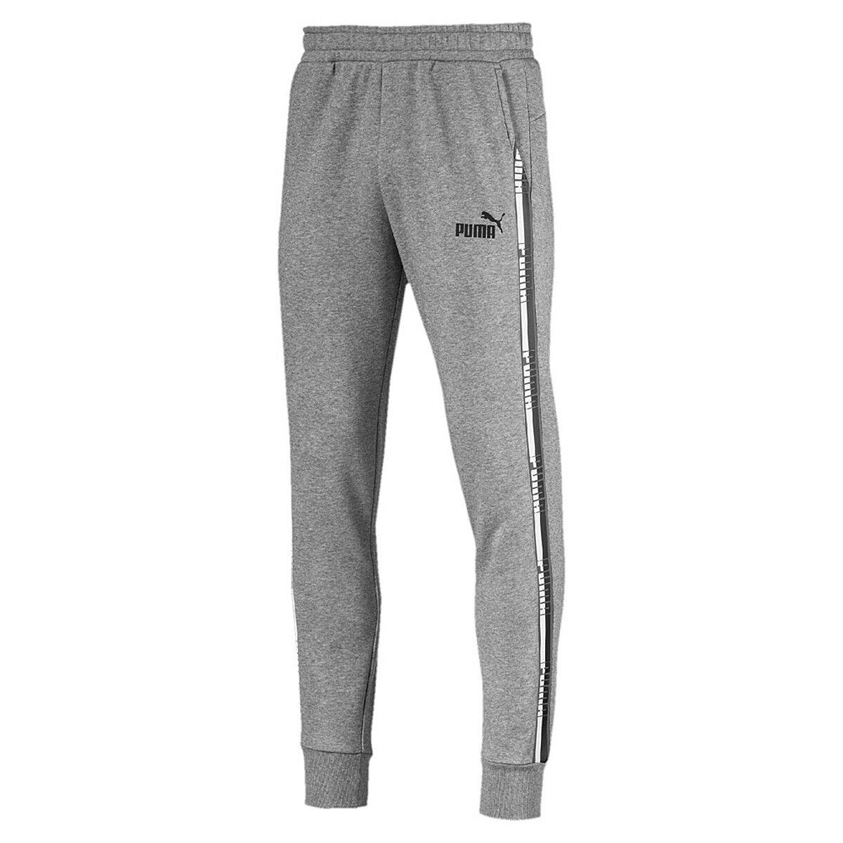 d9a95cb8379569 Tape Pants Sports Shorts Training Trousers 852418 03 Grey Puma Men s ...