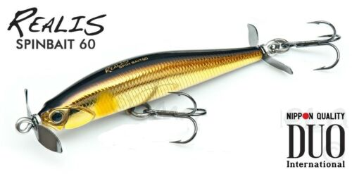 DUO Realis Spinbait 60S fishing lures original range of colors