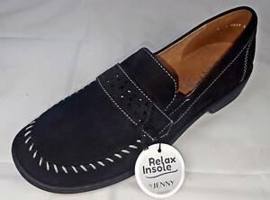 competitive price 849cb 64bba Details zu Ausverkauf Jenny by ara Schuhe Slipper schwarz Halbschuhe weite  H Neu 365 479/2