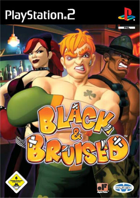 Black & Bruised (Sony PlayStation 2, 2003, DVD-Box) PS2 Zustand Sehr Gut OVP