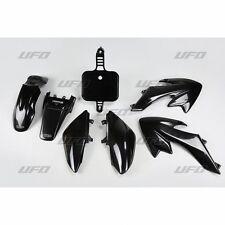 Nuevo UFO HONDA CRF 50 kit de plástico de exportación Motocross MX 2004 - 2017 Negro