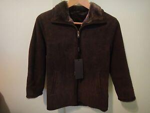 Boys Brown Brisa Shearling Jacket | eBay