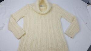 Jones-New-York-Sport-Women-039-s-Long-Sleeve-Turtle-neck-Sweater-Size-M