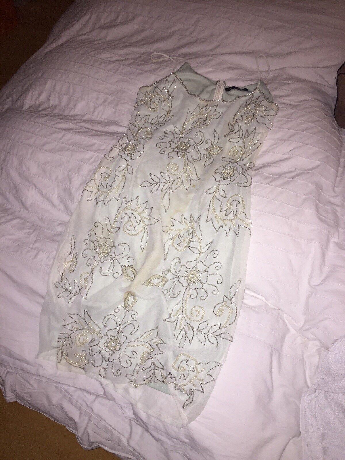 Embellished Dress MINT GREEN TFNC SMALL
