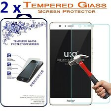 [2 Pack] For Huawei Honor 8 HD [Tempered Glass] Screen Protector 9H Glass