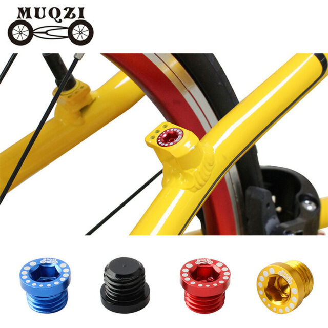 4 X Aluminum Bicycle Mountain Bike V-Brake Post Mount Screw Plug Bolts M10*1.25