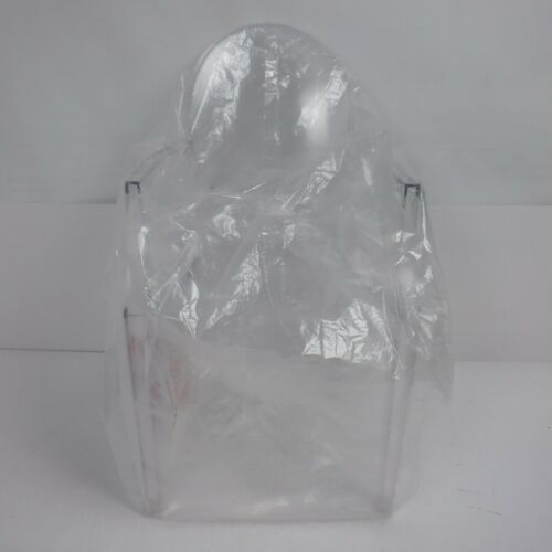 Loulou Ghost Chairs, Transparent, 72 x 38 x 56 cm *NEW*