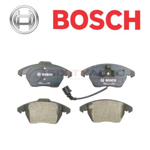Bosch QuietCast Disc Brake Pads w Hardware for 2005-2016 Volkswagen Jetta ll