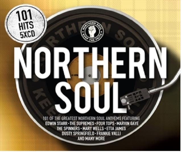 101 NORTHERN SOUL (Best Of / Greatest Hits): 5CD ALBUM BOX SET