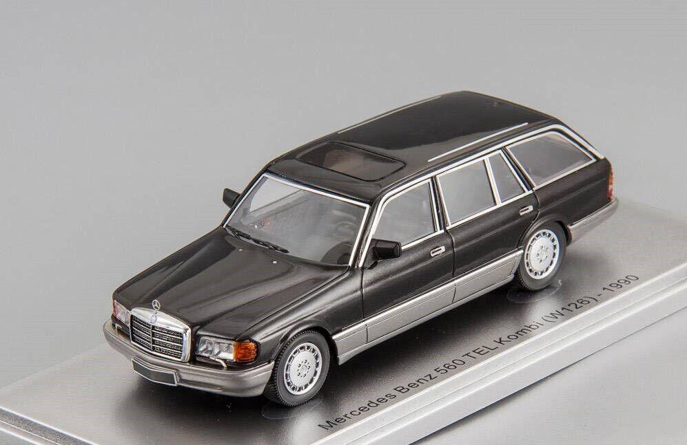 Mercedes Benz 560 SEL (W126) 1990 KESS KE43037020 1 43