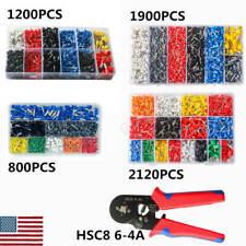 Hsc8 6 4a Crimping Tool Set Wire Plier Tools2120pcs Wire Ferrule Terminals Kit