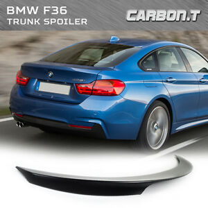 painted for bmw f36 gran coupe performance p style rear trunk spoiler 430d 420d ebay. Black Bedroom Furniture Sets. Home Design Ideas