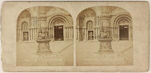 Venezia-Pilastro-Place-Sant-039-Marc-Italia-Foto-L53S1n48-Vintage-Albumina-c1860