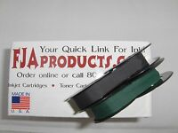 Ink Ribbons For The Portable Royal Quiet Deluxe Typewriter - Black & Green
