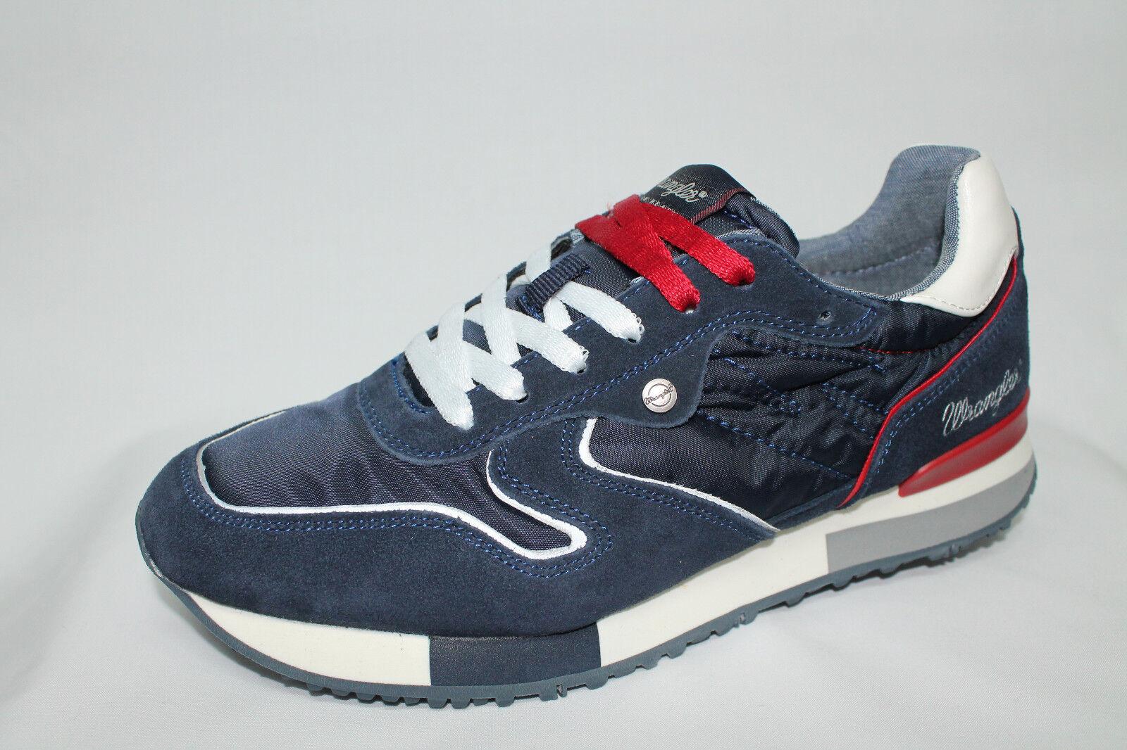 zapatillas Wrangler Forest azul Memory Foam tipo Premiata listino - 20%