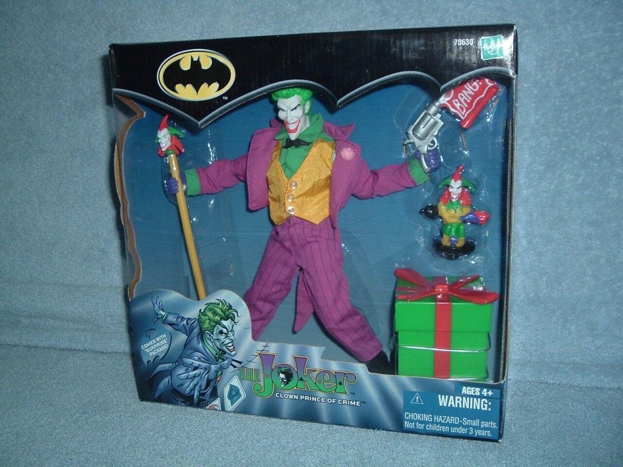 THE JOKER Clown Prince of Crime Hasbro 2001 Sealed MISB New Batman DC Comics