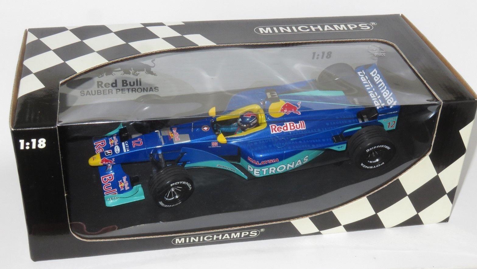 1 18 Red Bull Sauber Petronas C18  1999 Season Pedro Diniz