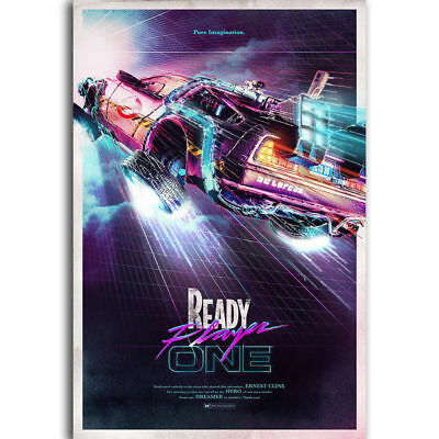 N-377 Nice Movie Back To The Future 1 2 3 Fabric POSTER 20x30 24x36