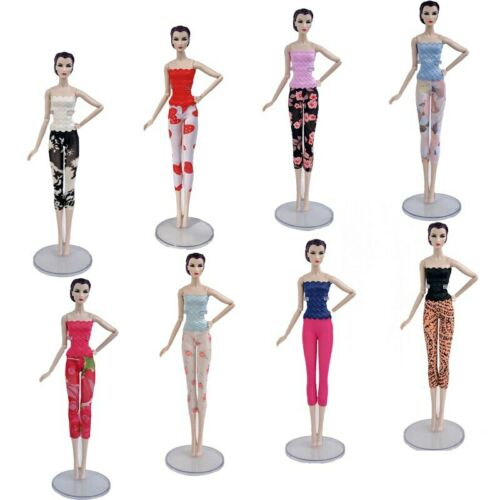 """3sets//lot Fashion Doll Clothes For 11.5/"""" Doll Lace Top /& Shorts Legging Outfits"""
