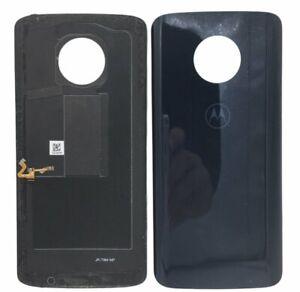 Tapa Trasera Cubre Batería Para Motorola Moto G6 Plus XT1926 Negro Desmontaje