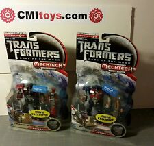 Transformers LUNARFIRE OPTIMUS PRIME mechtech exclusive lot x2 dark of the moon