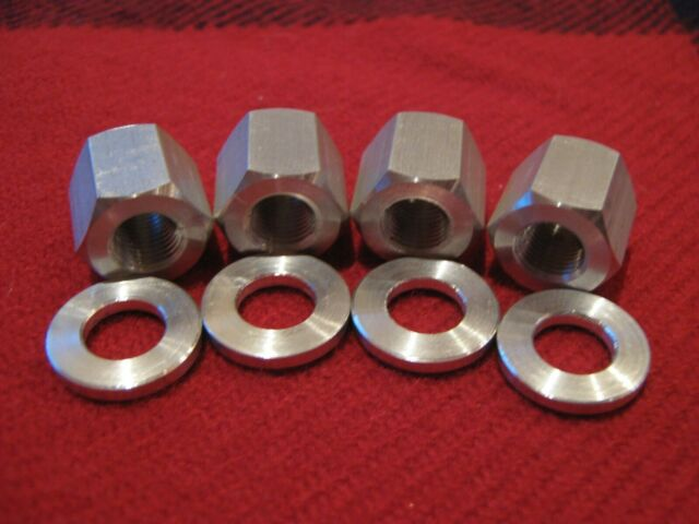 NOS Suntour Front Solid Axle Set Cones Washers Locknuts Nuts BMX MTB Track Fixie