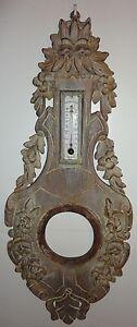 Deco ancienne en bois pour thermometre deco vintage