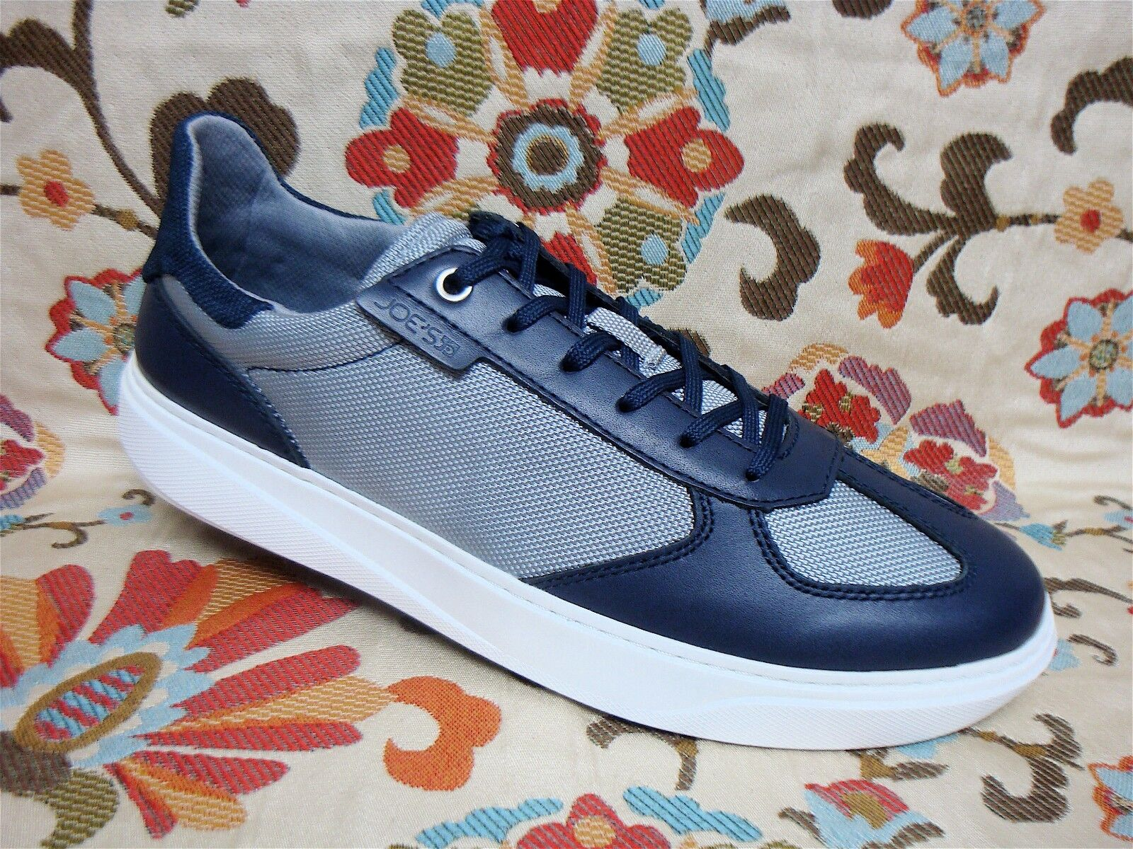 JOE'S  - JJ0011 - Men's Casual shoes Sneakers - Navy bluee Light bluee - Size 8.5