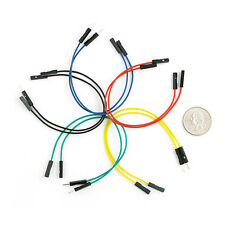 "High Quality 30 Pack DFRobot Jumper Wires 7.8/"" F//M FIT0365"