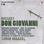 1 of 1 - Mozart: Don Giovanni - The Sony Opera House, Lorin Maazel, Good Used CD Box set