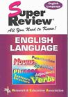 English Language: Super Review by The staff of Research and Education Association (Paperback, 2000)