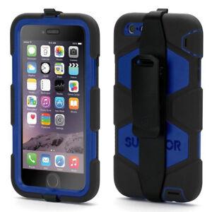 online store bdd4c 0d8b8 Details about Griffin Survivor Tough Rugged Case Cover For Apple iPhone 6  Plus & 6S Plus, Blue