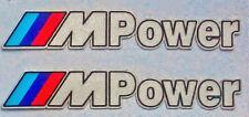 X2 BMW M Power 2D Aufkleber Sticker M3 M5 M6 E24 E30 E36 E39 E46 E90 *NEU*