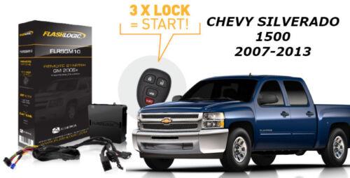 Flashlogic Remote Start for Chevy Silverado 1500  2008 Plug N Play T Harness