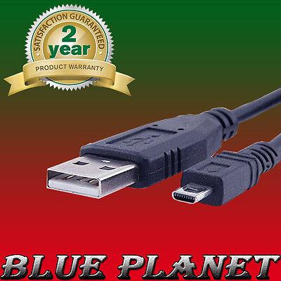 DMC-FP3 USB Cable Data Transfer Lead Panasonic Lumix DMC-FP1 DMC-FP2