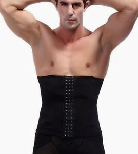 UK Slimming Compression Waist Trainer Stomach Flattening Control Belt for Men