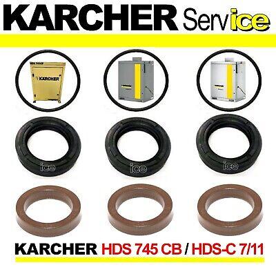 Maintenance set valves gaskets piston ø22 for karcher hds 895
