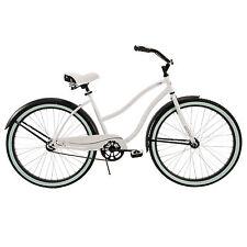 """Beach Cruiser Bike Women's 26"""" Huffy White Ladies Bicycle NEW"""