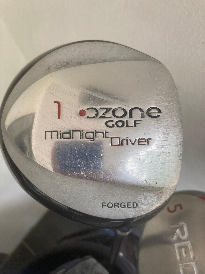 Begynder golfsæt, stål, OZONE