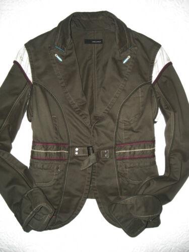 Green Blazer Runway Khaki Giacca Donna It Nwot Dsquared2 S 42 Verde Army Jacket d6qawnncCB