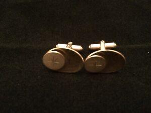 gold tone Vintage cufflinks