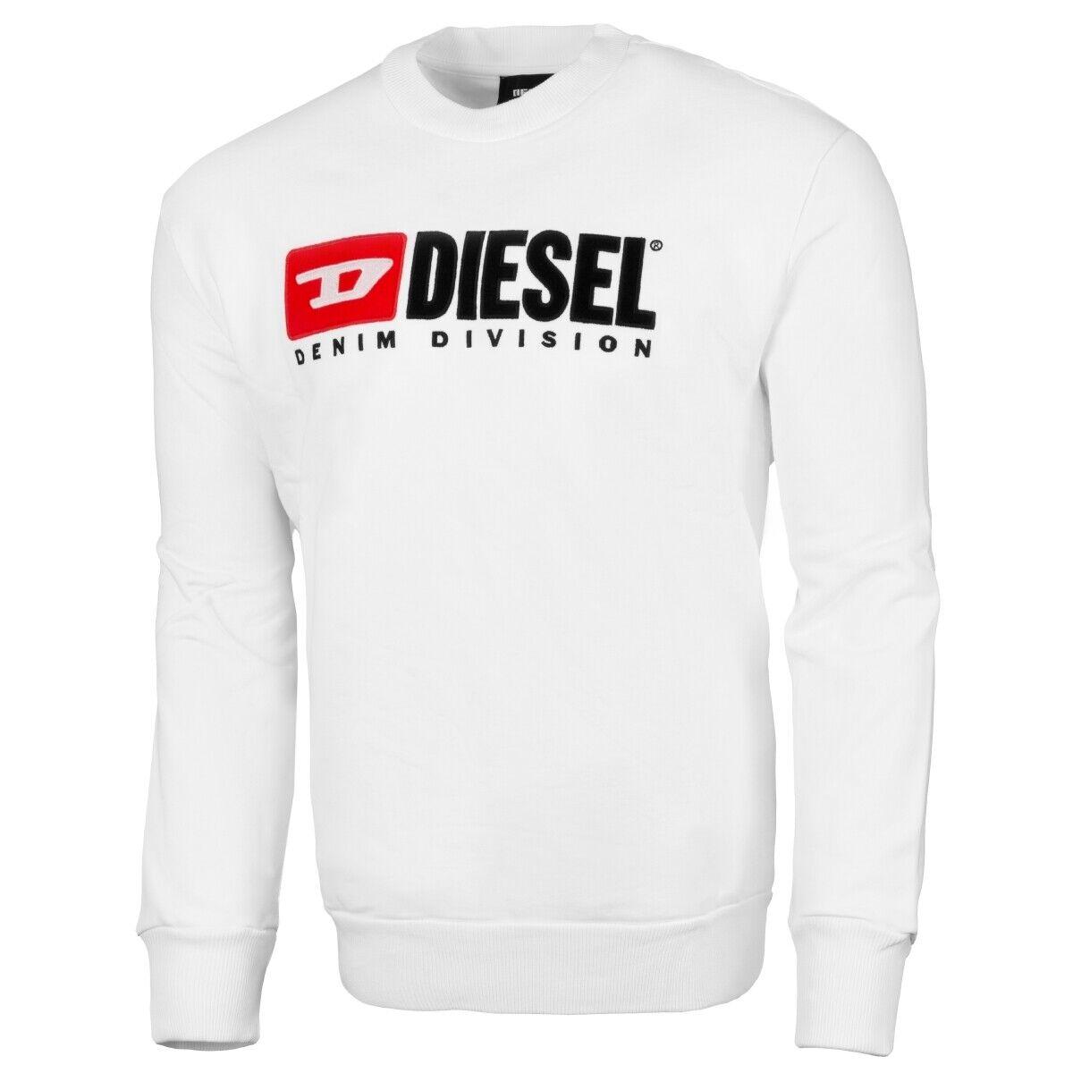 Diesel S-CREW-DIVISION Sweatshirt Men Herren Pullover Sweater 00SHEP-0CATK-100