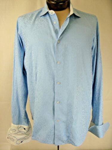 Robert Graham Long Sleeve L Flip Cuff Button Front