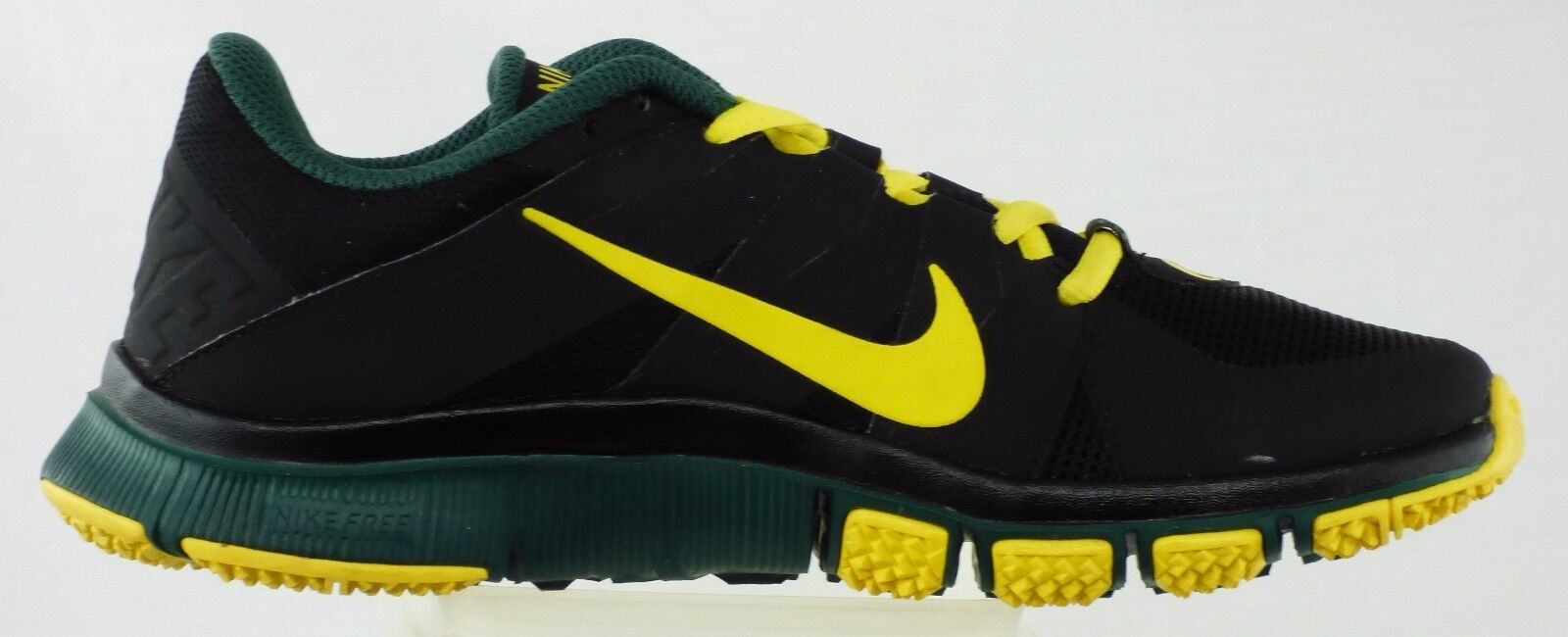 PROMO SAMPLE NIKE OREGON DUCKS 5.0 TRAINER V3 MEN SIZE 6 BLACK GREEN